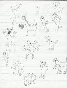 350.creatures
